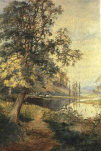 houghton on the river arun, sussex by arthur willett