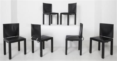 Sei sedie Arcara della collezione Arcadia by Paolo Piva on artnet