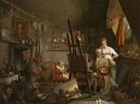 el taller del pintor by henry ashby