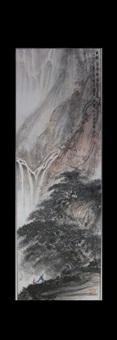 chinese landscape painting by fu baoshi