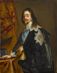 king charles i (after sir anthony van dyck) by kpm - königliche porzellan-manufaktur (co.)