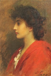 a venetian belle by sir samuel luke fildes