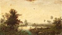 paisajes cubanos (2 works) by miguel arias