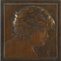 untitled (portrait) by alexander stirling calder