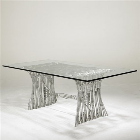dining table by arthur court