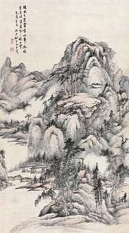 荒坡泉韵 by yao shuping