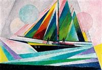 segelboot by joseph friedrich gustav binder