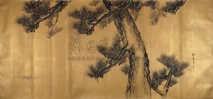 古松图 pine by song nian