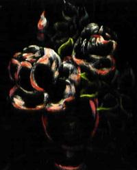 rosen in vase by andré jean evard