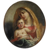madonna col bambino by francesco zugno the younger