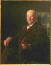 portrait von carl wilhelm ferdinand michahelles by julius christian rehder