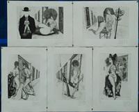 les fenetres cartella contenente (5 works) by helmut leherb