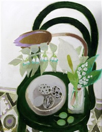 the green chair by mary fedden