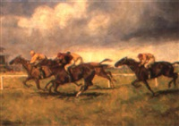 the horse race by ede lengyel-reinfuss