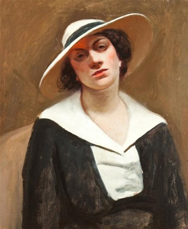 portrait of alta hilsdale by edward hopper