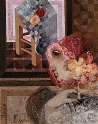 jeune femme avec fleurs by alvar