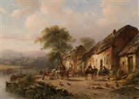 landscape with inn by anonymous (19)