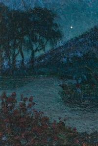 paisaje nocturno by nicolas raurich y petre