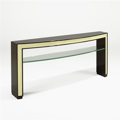 console table by michel dufet