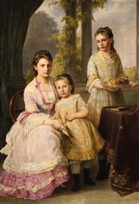 three sisters by joseph hartmann