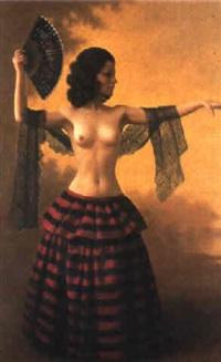 spanish dancer by raza samini