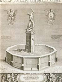 der merkurbrunnen by wolfgang kilian
