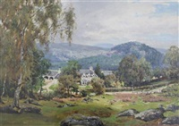 scottish landscape by george melvin rennie