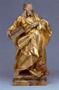 der heilige markus mit dem löwen by joseph gotsch