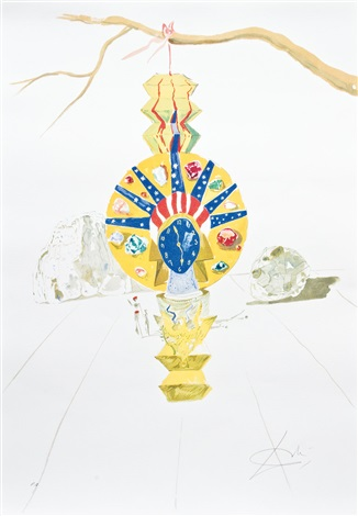 desert jewel from time suite by salvador dalí on artnet