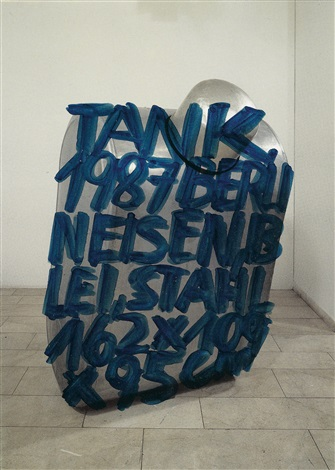 tank 1987 berlin by erwin wurm
