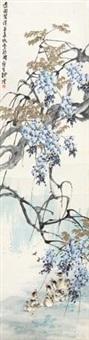 紫藤黄鸭 by liu bin