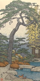 pine (from the friendly garden series) by toshi yoshida