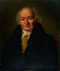 porträt monsieur maillard by alexandre-louis d' albert-durade