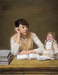 寂寞的娃娃 by chang lei