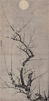 plum flower by liu shiru