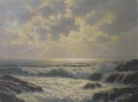 rocky coastline by josef m. arentz