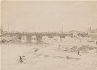 puente de segobia, madrid by john bulloch souter