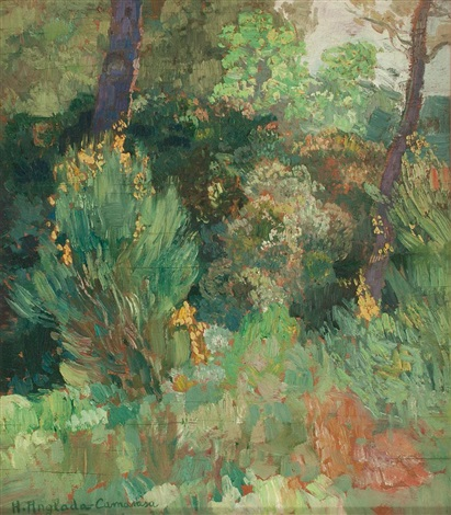 bosque probablemente del pinaret by hermenegildo anglada camarasa