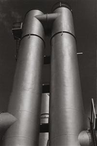 spritztürme der absorption, aluminium a. g. by leo leibinger
