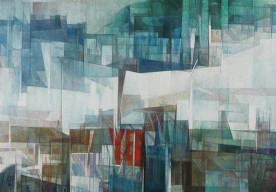 abstract cityscape by jordi aluma
