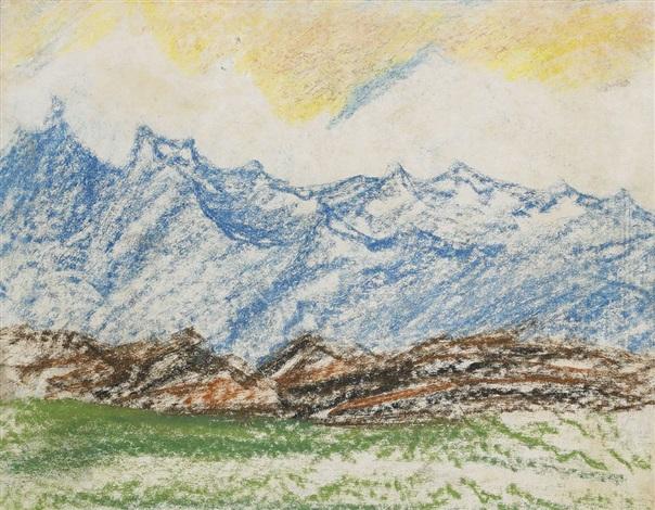 blånande berg by carl fredrik hill