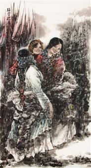 瑞雪迎春 by li xiufeng