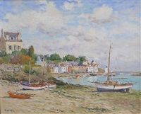 belle isle and low tides, point croix (2 works) by laurent vialet