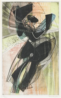 danse du soleil by stanley william hayter