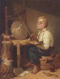 den lille kunstner by johan kristofer boklund