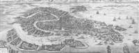 celeberrima urbs venetæ by pieter boudewyn van der aa