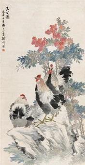 三公图 by xu xiang