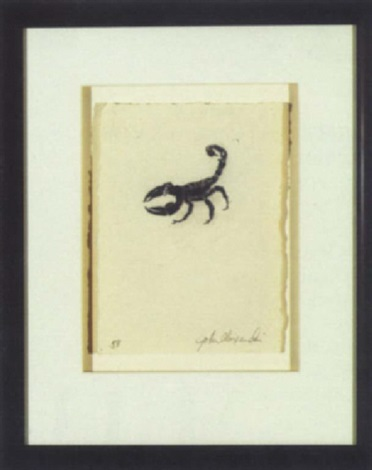 scorpion by john alexander