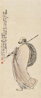 罗汉 by li geng