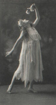 the dancer by louis fleckenstein